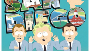 "Still from South Park song ""Jackin' It In San Diego"""